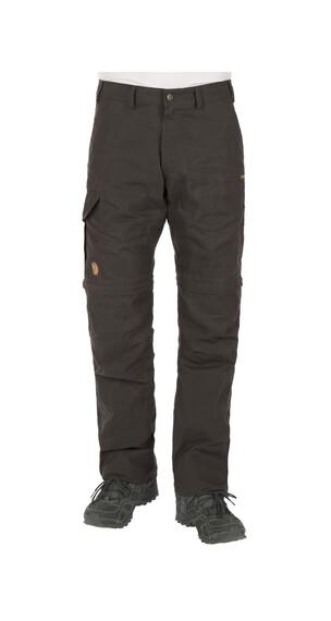 Fjällräven Karl lange broek grijs/zwart